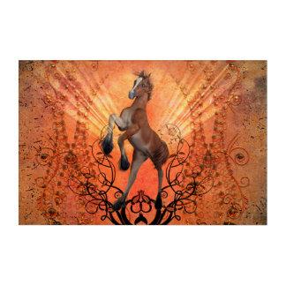Wonderful , cute foal acrylic wall art