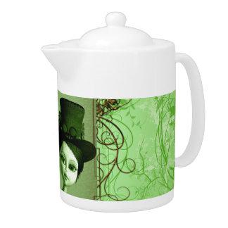 Wonderful, cute girl teapot