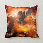 Wonderful dark unicorn i pillow