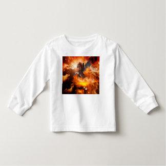 Wonderful dark unicorn in the universe toddler t-shirt