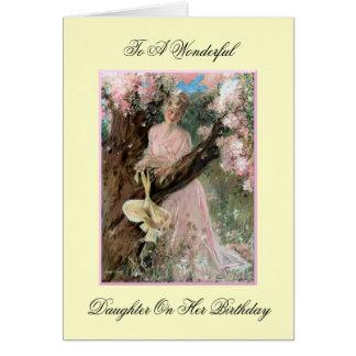Wonderful Daughter Birthday Card