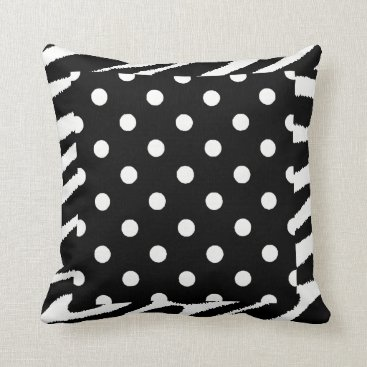 Beach Themed WONDERFUL DECORATIVE COMFY POLKA DOT BEACH PILLOW