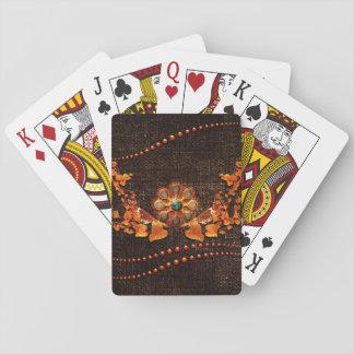 Wonderful decorative design playing cards
