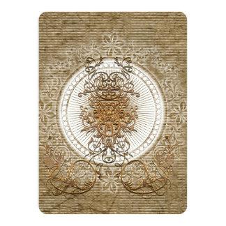 Wonderful decorative floral elements card