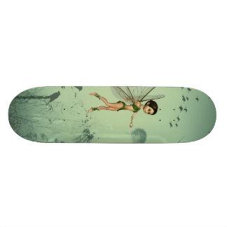 Wonderful fairy skateboard deck