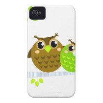 Wonderful fairytale Owls : Tshirts Case-Mate iPhone 4 Case