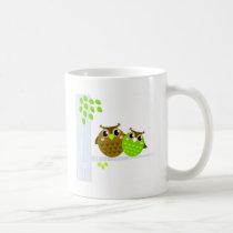 Wonderful fairytale Owls : Tshirts Coffee Mug