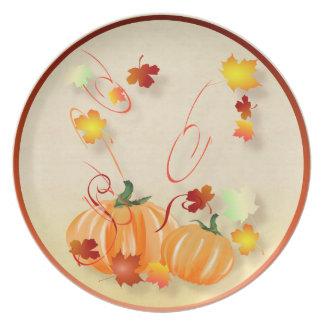 Wonderful Fall-Colorful Fall Plate