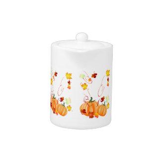 Wonderful Fall-Colorful Fall Teapot