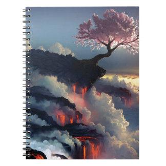 Wonderful Fantasy Topography Spiral Notebook
