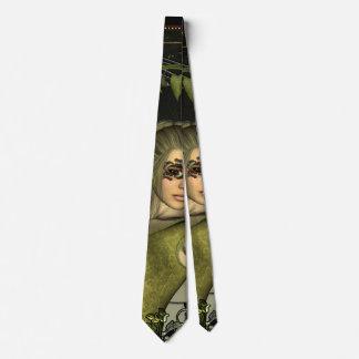 Wonderful fantasy women neck tie