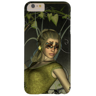 Wonderful fantasy women with leaves barely there iPhone 6 plus case