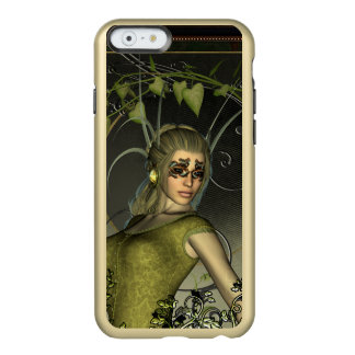Wonderful fantasy women with leaves incipio feather shine iPhone 6 case