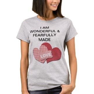 Wonderful & Fearfully Made Women's T-shirt