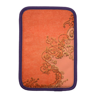 Wonderful floral design in soft colors sleeve for iPad mini