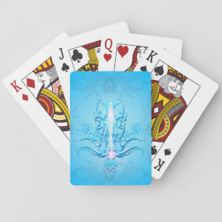 Wonderful floral elements card deck