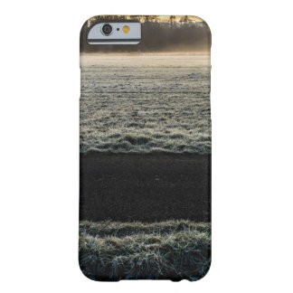 wonderful frozen grass landscape barely there iPhone 6 case