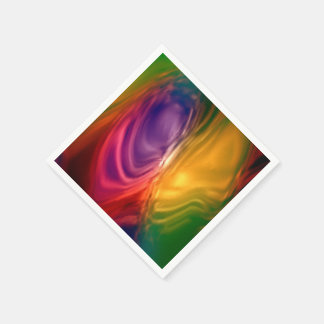 wonderful gradients 04 Swirl Colorful Paper Napkins