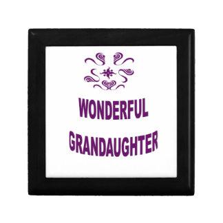 Wonderful Grandaughter Gift Box