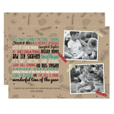 Professional Business Wonderful Holiday Chaos Card