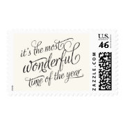 WONDERFUL | HOLIDAY POSTAGE