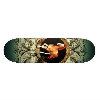 Wonderful horse skateboard