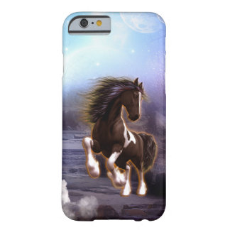 Wonderful horse with moon barely there iPhone 6 case