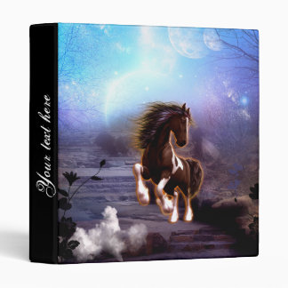 Wonderful horse with moon binder