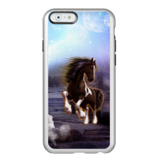 Wonderful horse with moon in the night incipio feather® shine iPhone 6 case