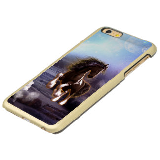 Wonderful horse with moon in the night incipio feather® shine iPhone 6 plus case