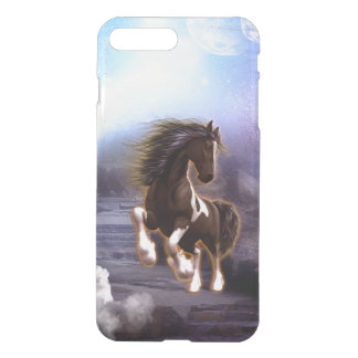 Wonderful horse with moon in the night iPhone 7 plus case