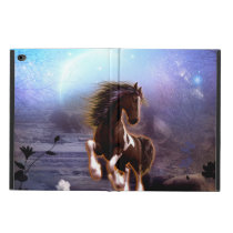 Wonderful horse with moon in the night powis iPad air 2 case