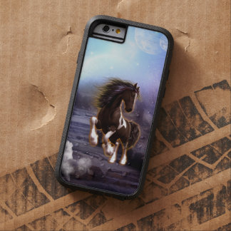 Wonderful horse with moon tough xtreme iPhone 6 case
