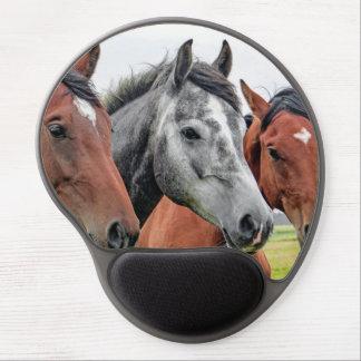 Wonderful Horses Stallion Photography Gel Mouse Pad