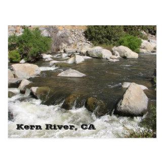 Wonderful Kern River Postcard! Postcard