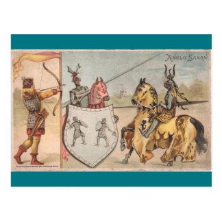 Wonderful Knights Postcard