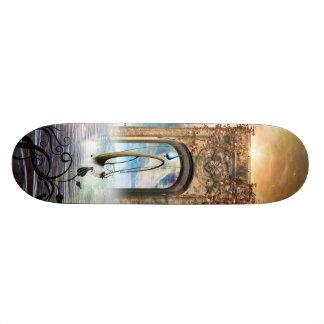 Wonderful lamp skateboard