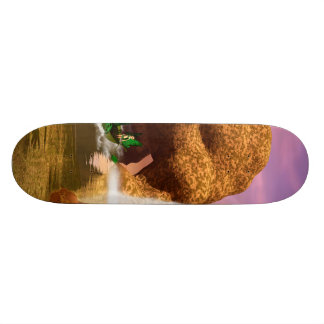 Wonderful landscape skateboard