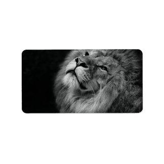 Wonderful Lion Label