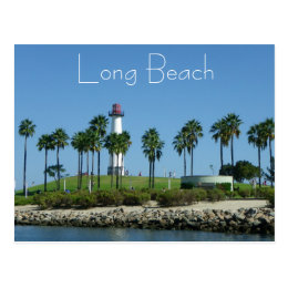 Wonderful Long Beach Postcard! Postcard