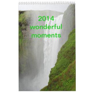 wonderful moments 2014 wall calendars
