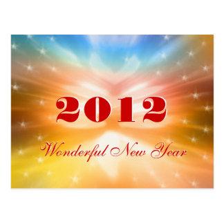Wonderful New Year 2012 - Postcard