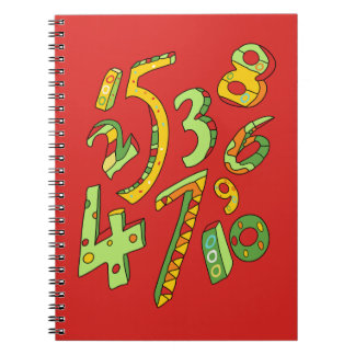 Wonderful One to Ten Numbers Notebook