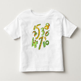 Wonderful One to Ten Numbers T Shirt