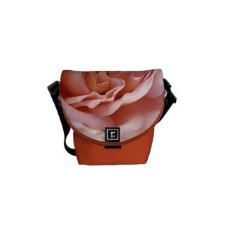 Wonderful Orange and Pink Rose - Small Bag Messenger Bags