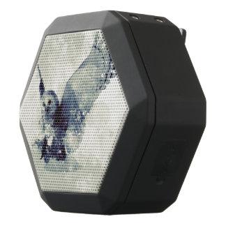 Wonderful owl in watercolor black bluetooth speaker