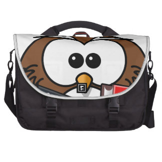 Wonderful Owl Laptop Commuter Bag