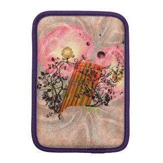Wonderful pan flute with roses iPad mini sleeve