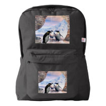 Wonderful penguin american apparel™ backpack