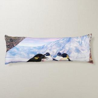 Wonderful penguin body pillow